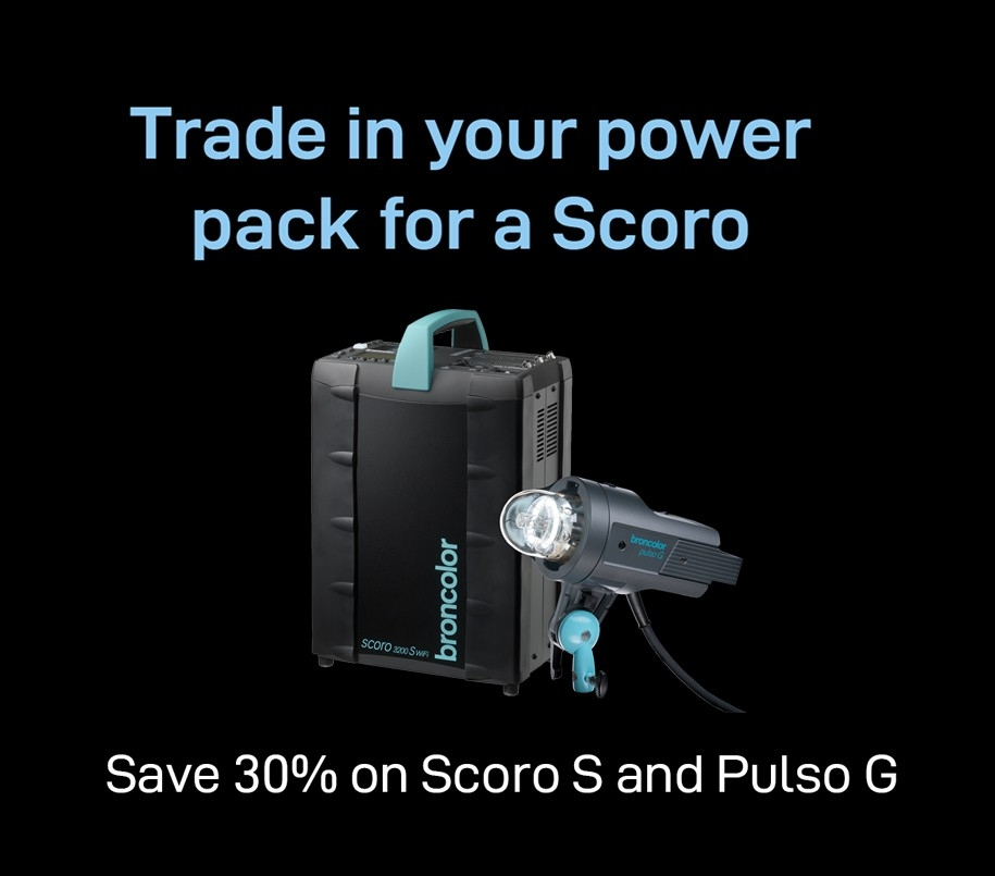 Trade in your power pack for a Scoro