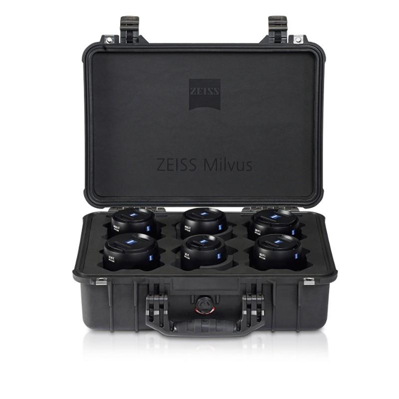 Zeiss Milvus Super Speed ZE Lens Bundle - ZE Canon