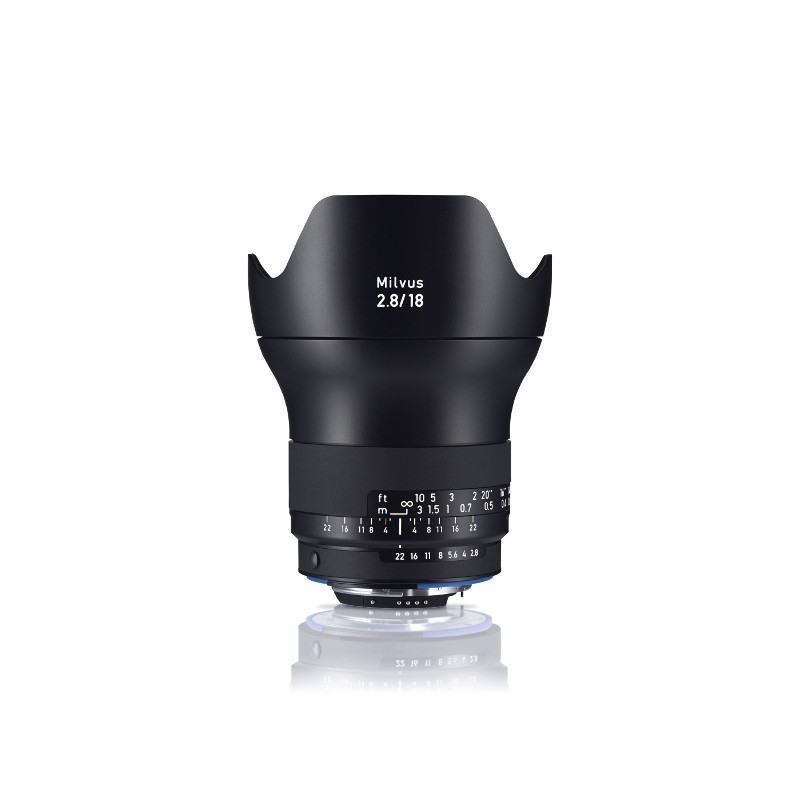 Zeiss Milvus 18mm f/2.8 ZF.2 Nikon