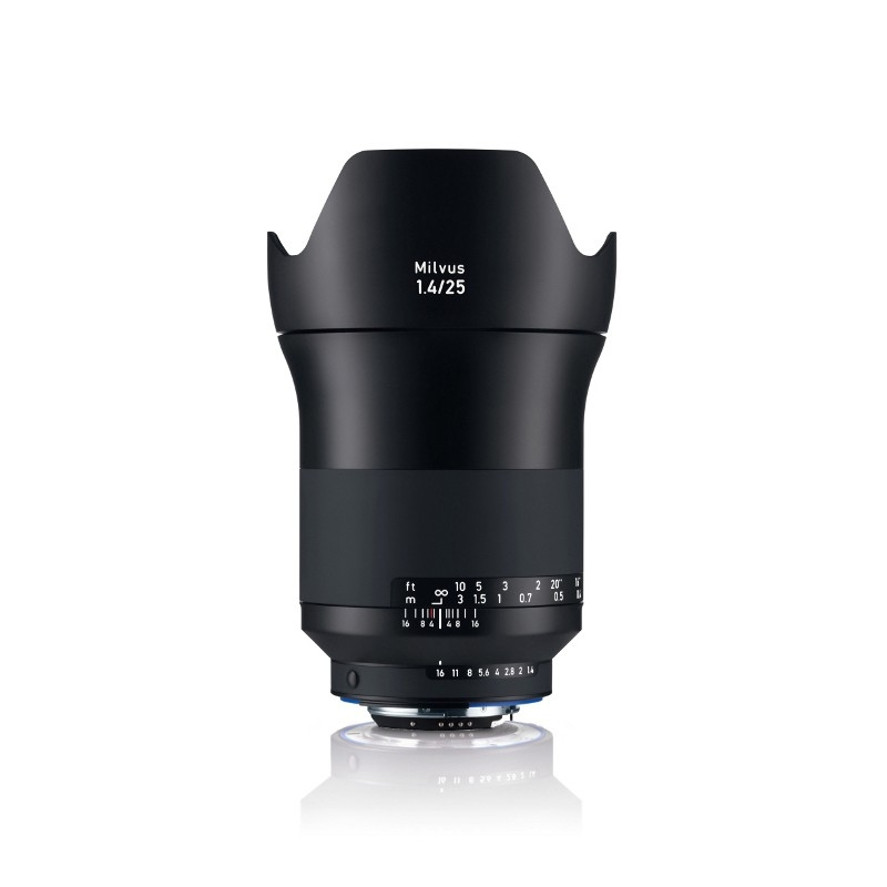 Zeiss Milvus 25mm f/1.4 ZF.2 Nikon
