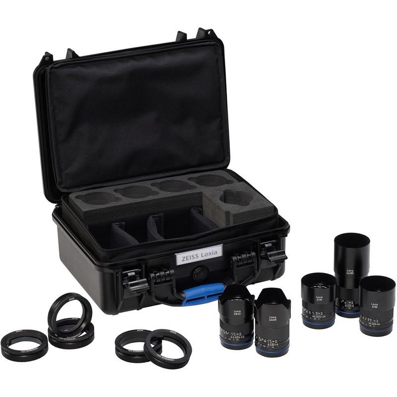 Zeiss Loxia Lens Bundle - Sony E mount