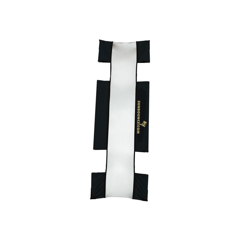 "Sunbounce Sun-Strip Mini-7"" Screen  - Silver/White"