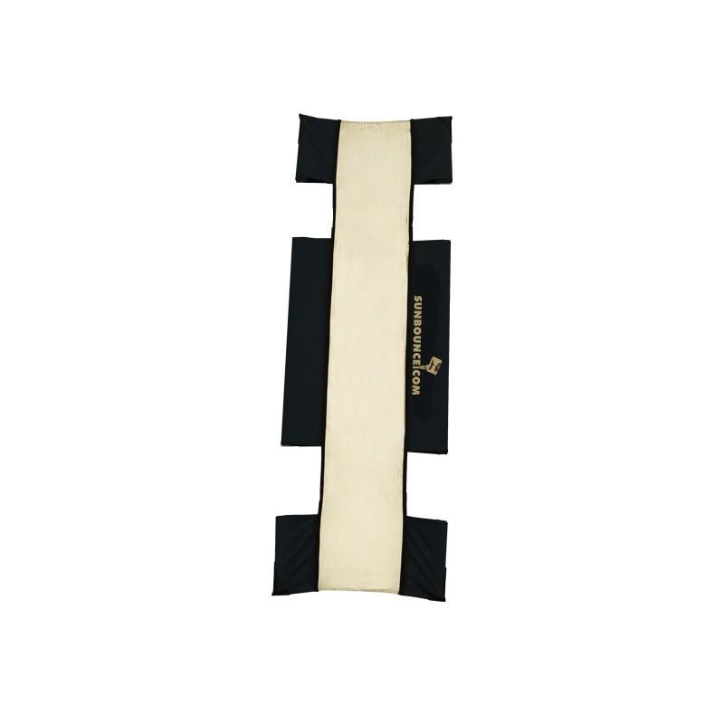 "Sunbounce Sun-Strip Mini-7"" Screen - Zebra Gold/White"