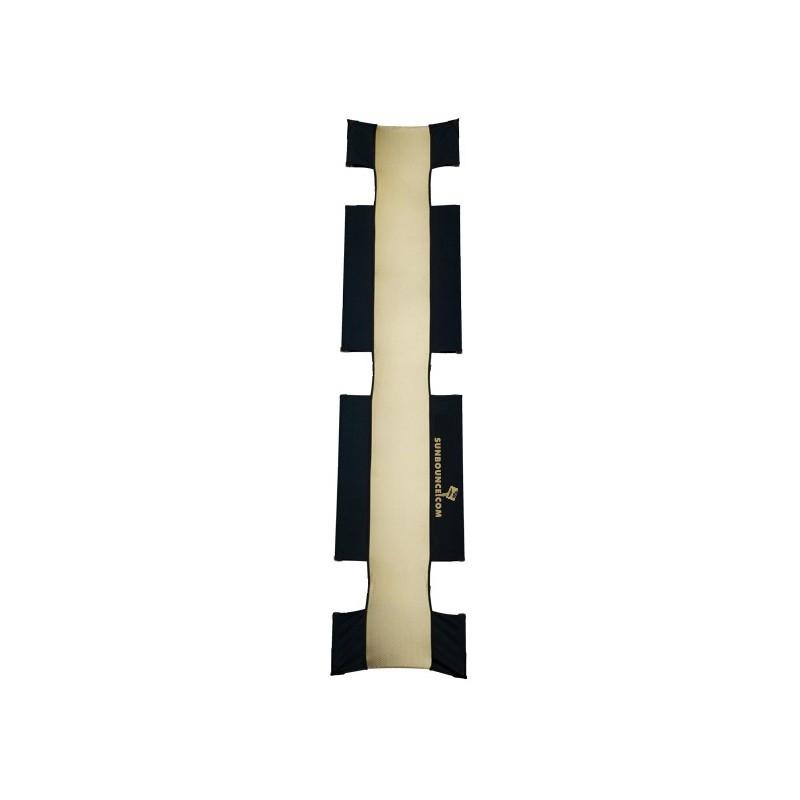 "Sunbounce Sun-Strip Pro-7"" Screen - Zebra Gold/White"