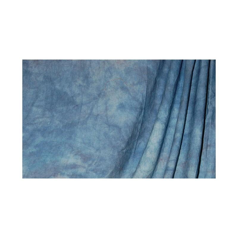 Savage Mottled Muslin Background Crushed Apex Blue