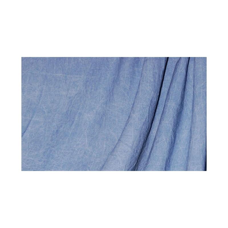 Savage Mottled Muslin Background Washed Sky Blue