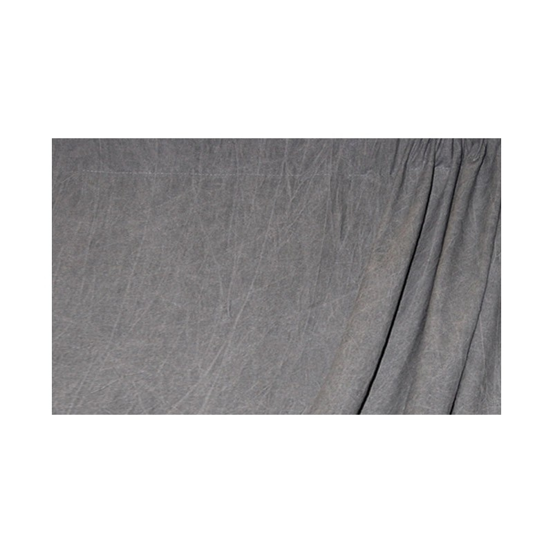 Savage Mottled Muslin Background Washed Dark Gray
