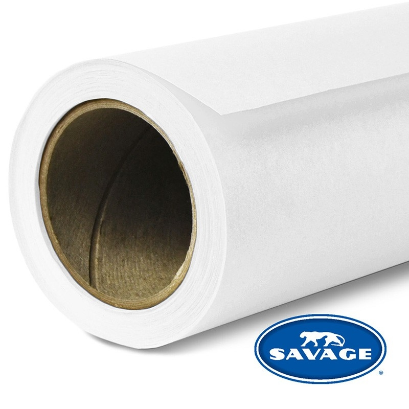 Savage Widetone Seamless Background Paper Super White
