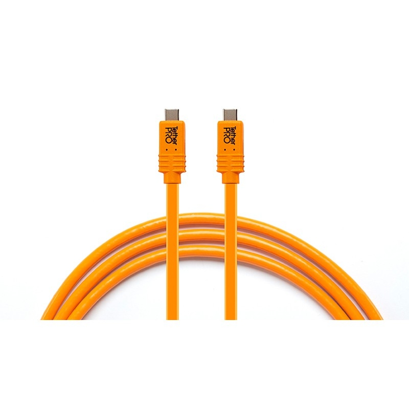 Tether Tools Tether Pro USB C to USB C for Phase One (4,6m) Orange
