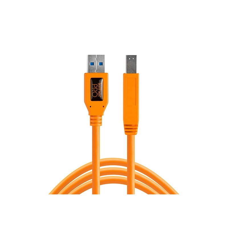 Tether Tools TetherPro USB 3.0 to Male B (4.6m) Orange