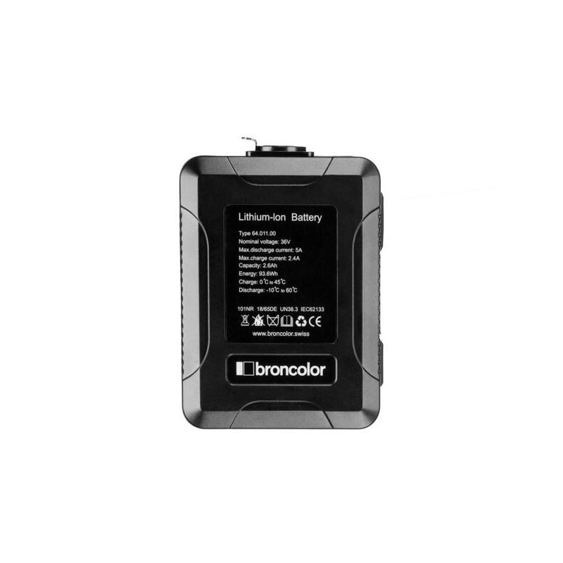 Broncolor Li-Ion battery 36 V XLR